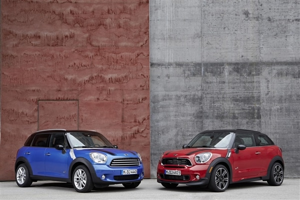 2017 Mini Paceman And Countryman To Offer New Jcw Trim Packages Kelley Blue Book