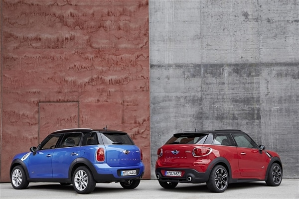 2014 Mini Paceman And Countryman To Offer New Jcw Trim Packages 5