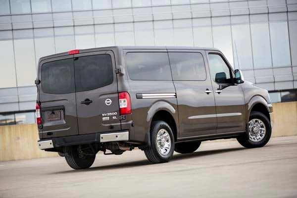 2014 nissan nv 3500 passenger van quick take kelley blue. Black Bedroom Furniture Sets. Home Design Ideas