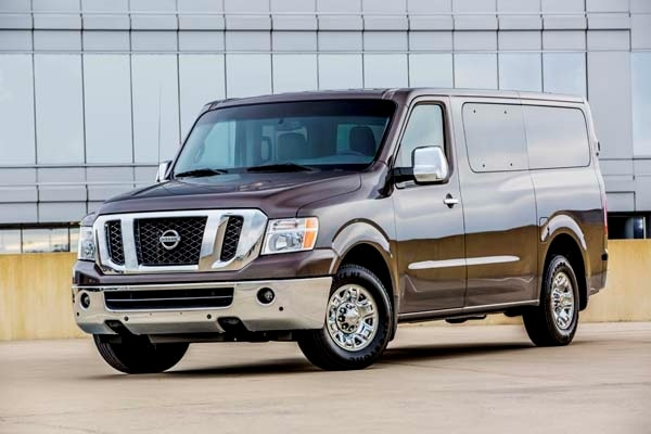 2014 Nissan Nv 3500 Passenger Van Quick Take Kelley Blue