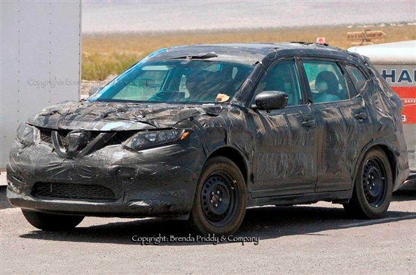 Captivating Hereu0027s An Early Look At The All New 2014 Nissan Rogue Spotted In Fairly  Extensive Camouflage While Out On A Shakedown Run In The Southwestern U.S.  Set To Go ...