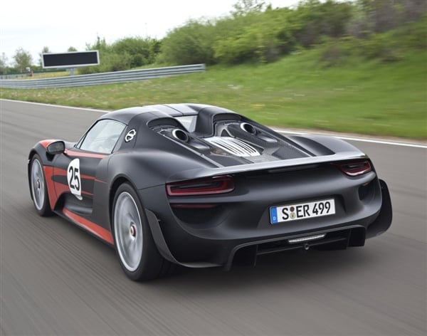 2014 Porsche 918 Spyder Gets Power And Performance Upgrades Kelley Blue Book