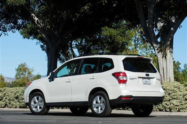 12 Best Family Cars: 2014 Subaru Forester 1