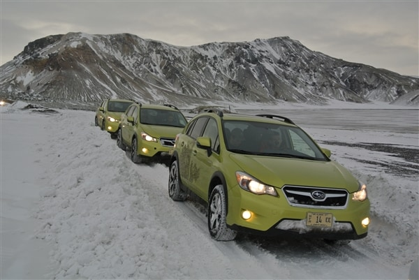 Subaru Expedition Iceland Trip Diary 1