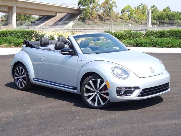 2014 volkswagen beetle convertible r line quick take. Black Bedroom Furniture Sets. Home Design Ideas