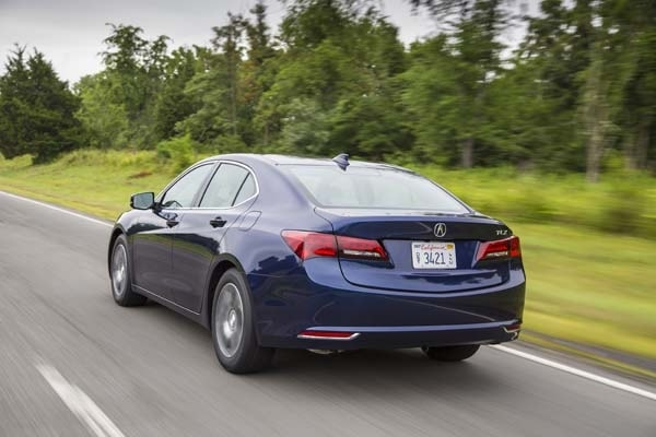 2015 Acura TLX First Review 1