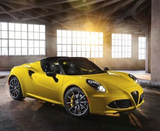 Alfa News 2015 2015 Alfa Romeo 4c Spider