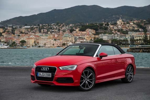 2015 audi a3 cabriolet 2 0t quick take kelley blue book. Black Bedroom Furniture Sets. Home Design Ideas