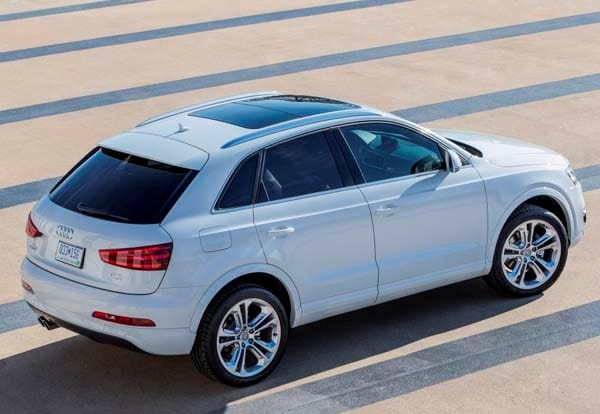 2015 audi q3 suv pricing to start at 33 425 kelley blue book. Black Bedroom Furniture Sets. Home Design Ideas