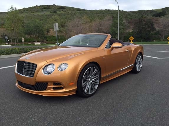 2015 Bentley Continental GT Speed Convertible Quick Take | Kelley ...