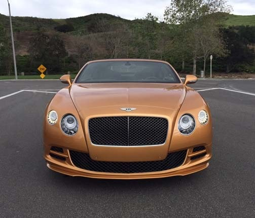 Bentley Continental Gt Speed Convertible 2015