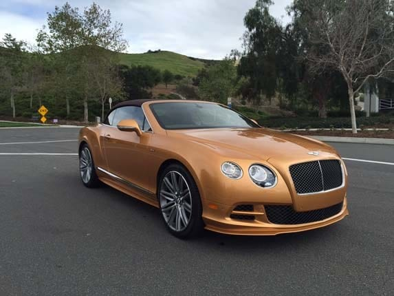 2015 bentley continental gt speed convertible quick take kelley blue book