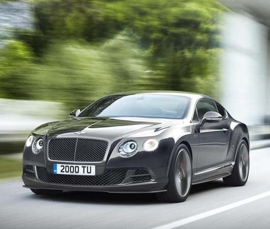 2015 Bentley Continental GT Speed Brings More Power, Style