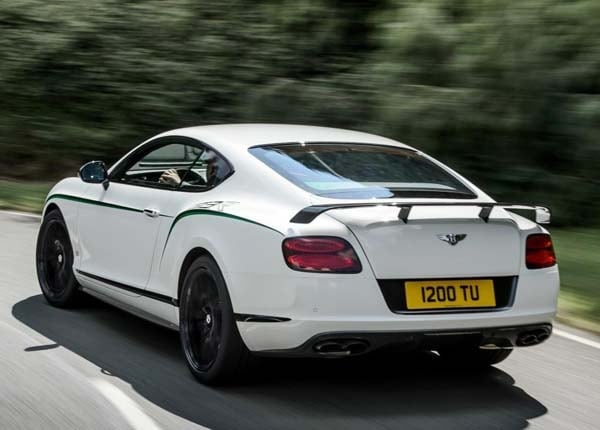 2015 Bentley Continental GT3-R brings race pace to the road 1