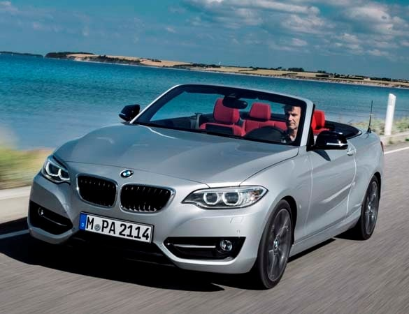 BMW 228I Xdrive >> 2015 BMW 228i/M235i Convertibles unveiled and heading to Paris - Kelley Blue Book