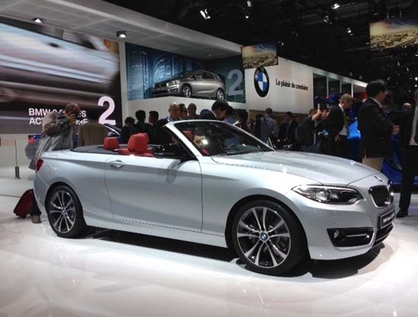 2017 Bmw 228i M235i Convertibles Unveiled And Heading To Paris
