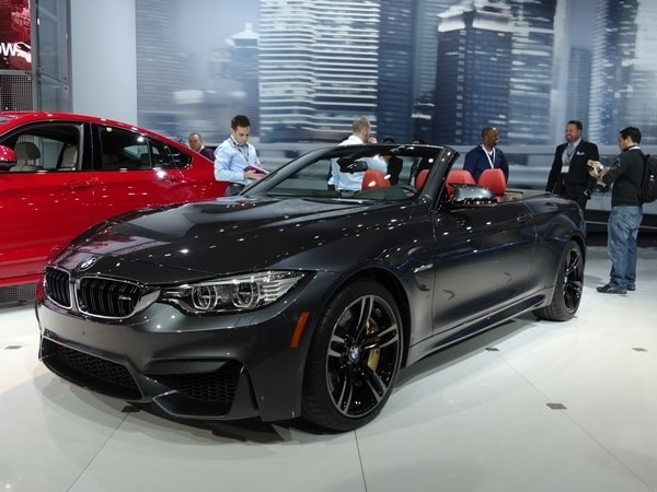 Making Its First Public Earance In New York The All 2017 Bmw M4 Convertible Is Al Fresco Alternative To Equally Coupe Version That