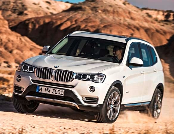 2015 BMW X3 - more style, rear-drive and a new turbodiesel option