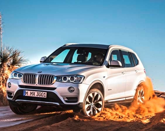 2015 BMW X3 - more style, rear-drive and a new turbodiesel option 1