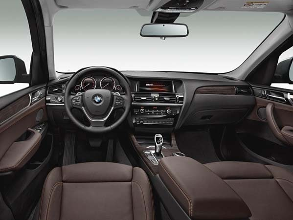 2015 BMW X3 - more style, rear-drive and a new turbodiesel option 9