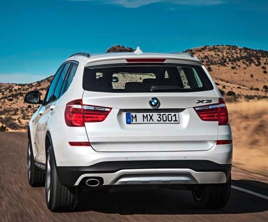 2015 BMW X3 - more style, rear-drive and a new turbodiesel option 4