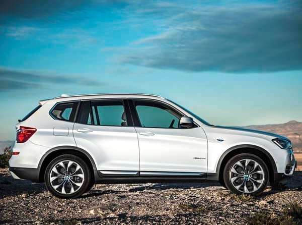 2015 BMW X3 - more style, rear-drive and a new turbodiesel option 2