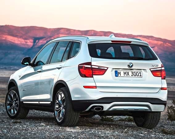 2015 BMW X3 - more style, rear-drive and a new turbodiesel option 3