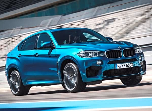 2015 Bmw X6 Blue 200 Interior And Exterior Images