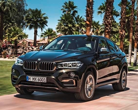 2015 BMW X6: New style, power and rear-drive 4