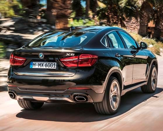 2015 BMW X6: New style, power and rear-drive 7