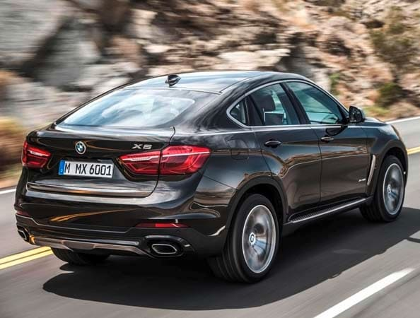 2015 BMW X6: New style, power and rear-drive 13