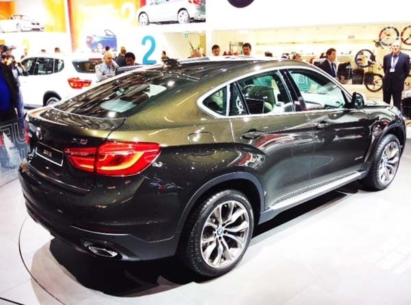 2015 BMW X6: New style, power and rear-drive 2