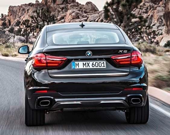2015 BMW X6: New style, power and rear-drive 9