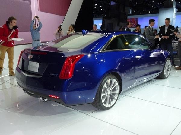 2015 Cadillac ATS Coupe makes Detroit debut 1
