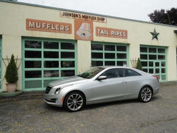 2015 Cadillac ATS Coupe First Review Fewer Doors More