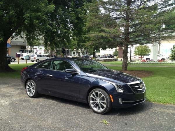 2015 Cadillac ATS Coupe First Review: Fewer doors, more style and performance 5