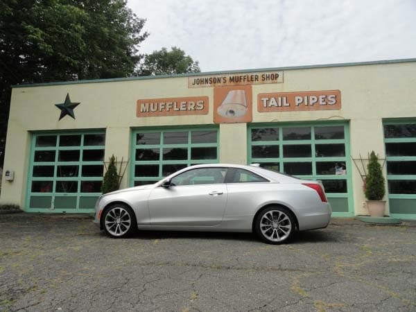 2015 Cadillac ATS Coupe First Review: Fewer doors, more style and performance 1