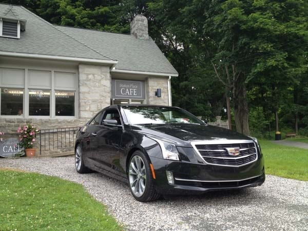 2015 Cadillac Ats Coupe Quick Take Kelley Blue Book