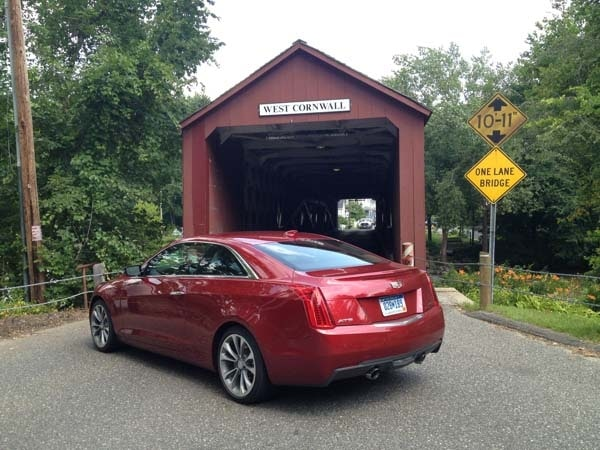2015 Cadillac ATS Coupe First Review: Fewer doors, more style and performance 8