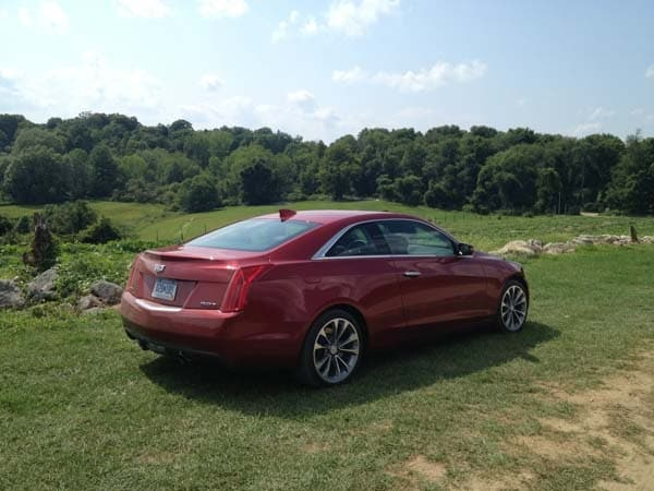 2015 Cadillac ATS Coupe First Review: Fewer doors, more style and performance 9