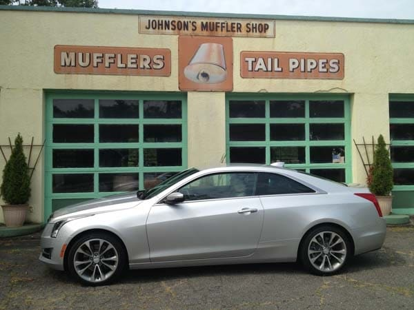 2015 Cadillac ATS Coupe First Review: Fewer doors, more style and performance 2