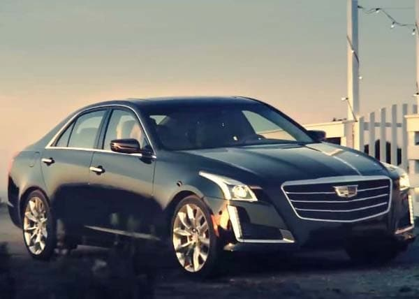 2015 Cadillac CTS Sedan teased | Kelley Blue Book