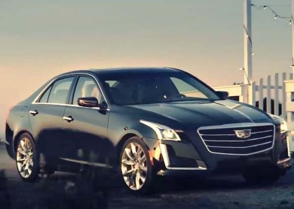 2015 Cadillac Cts Sedan Teased Kelley Blue Book