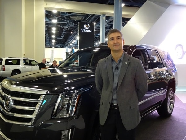 An interview with Michael Stapleton, Cadillac design director