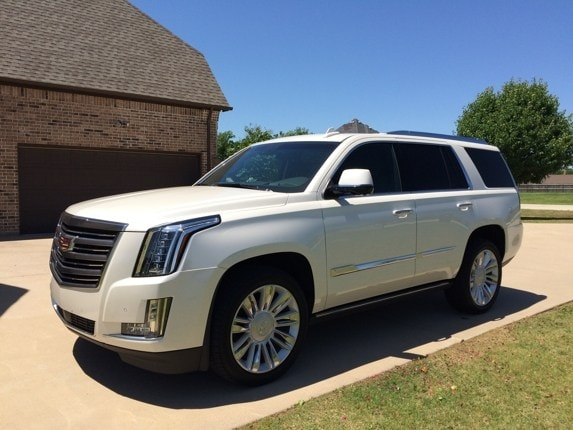 2015 cadillac escalade platinum quick take: your rolling masseuse