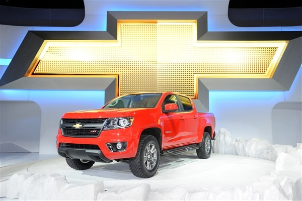 Chevrolet reinvents Colorado midsize pickup truck for 2015 6
