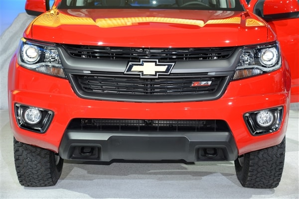 Chevrolet reinvents Colorado midsize pickup truck for 2015 1