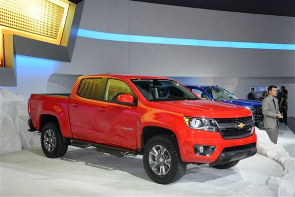 Chevrolet reinvents Colorado midsize pickup truck for 2015 4