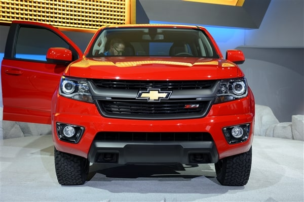 Chevrolet reinvents Colorado midsize pickup truck for 2015 21