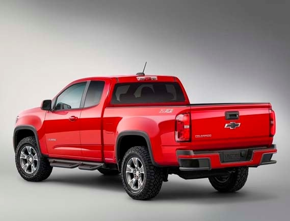 The 2015 Colorado Z71 Trail Boss Edition At The Cleveland Auto Show ...